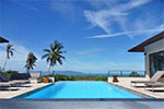 Villa Adam- private luxury sea view house for holiday rental on Koh Samui.