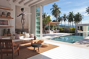 Samui Holiday Homes presents private house rental at Villa Akasha, Koh Samui, Thailand