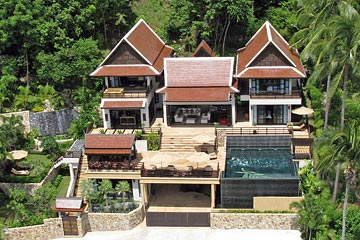 Samui Holiday Homes presents private house rental at Golden Palm Villa, Koh Samui, Thailand