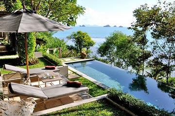 Samui Holiday Homes presents private luxury villa at The Headland Villa 1, Koh Samui, Thailand