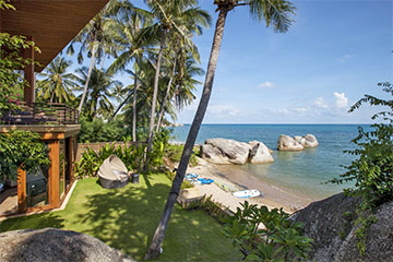 Samui Holiday Homes presents private luxury beach house at Baan HinYai, Koh Samui, Thailand