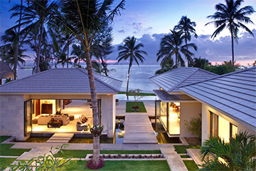 Samui Holiday Homes presents private luxury beachfront property at InAsia, Koh Samui, Thailand