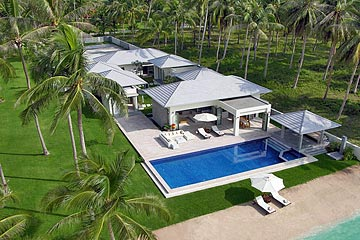 Samui Holiday Homes presents private luxury villa rental at La Lagune, Koh Samui, Thailand