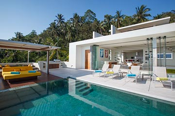 Samui Holiday Homes presents private luxury rental house at Lime Villa 2, Koh Samui, Thailand