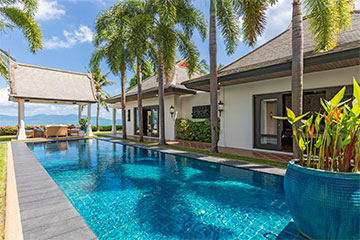 Samui Holiday Homes presents private beach house rental at Miskawaan Villa Champak, Koh Samui, Thailand
