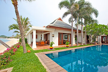 Samui Holiday Homes presents private beach house rental at Miskawaan Villa Gardenia, Koh Samui, Thailand