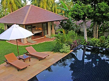 Samui Holiday Homes presents private luxury pool villa rental at Plantation Villas, Koh Samui, Thailand