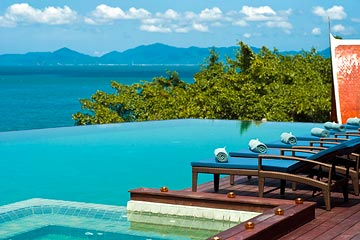 Samui Holiday Homes presents luxury beach house rental at Villa Riva, Koh Samui, Thailand