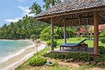 Ban Sairee- luxury beach house vacation rental on Koh Samui, Thailand.