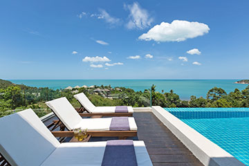 Samui Holiday Homes presents private luxury villa rental at Sukham, Koh Samui, Thailand