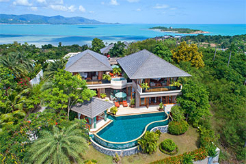 Samui Holiday Homes presents private house rental at Villa Uno, Koh Samui, Thailand