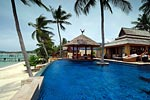 Upni Duniya- luxurious beach house for holiday rental on Koh Samui, Thailand.