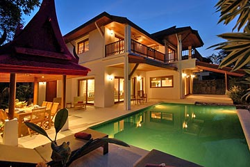 Samui Holiday Homes presents private vacation house for rent at Villa Leelavadee, Koh Samui, Thailand