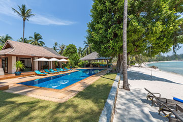 Samui Holiday Homes presents private beach house rental at Waimarie, Koh Samui, Thailand