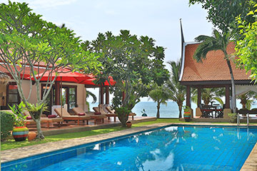Samui Holiday Homes presents private luxury villa rental at Tamarind House, Koh Samui, Thailand